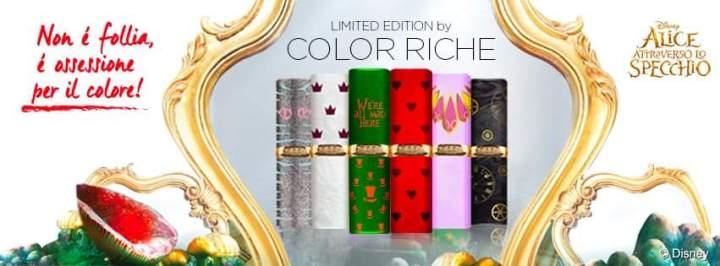 """Color Riche """"Alice attraverso lospecchio"""""""